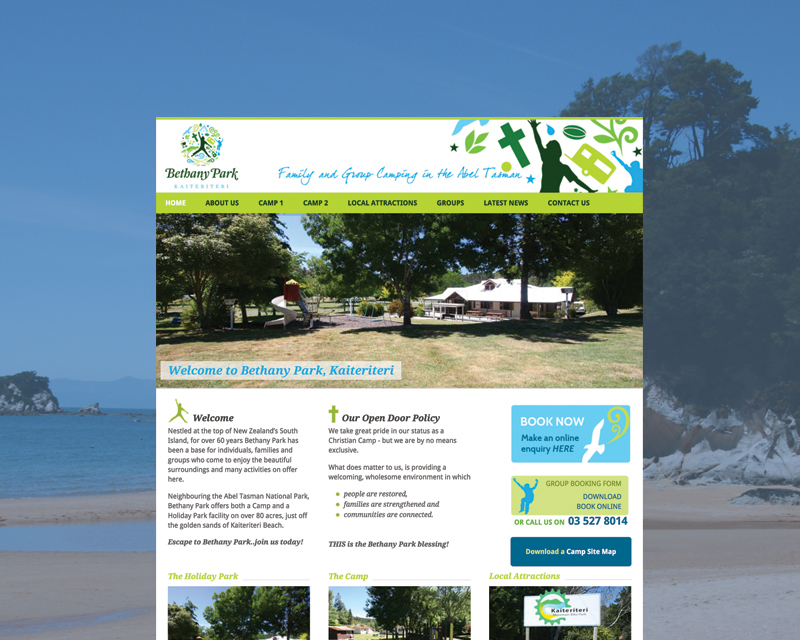 Bethany Park website